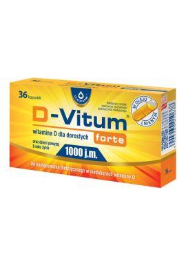 D-Vitum Forte 1000 J.M. 60kaps