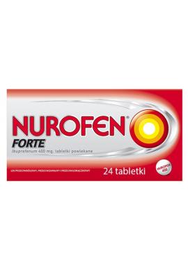 Nurofen Forte, 400mg, 24 tabletki