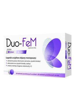 DUO-FeM 28 tabletek + 28 tabletek