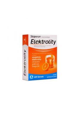 Elektrolity smak pomaranczowy 7 saszetek
