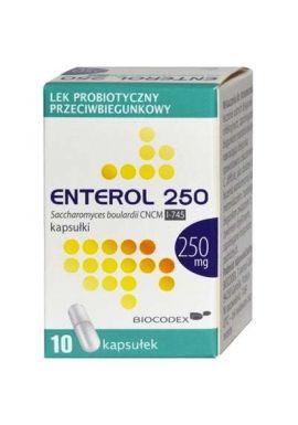 Enterol 250mg 10 kapsulek