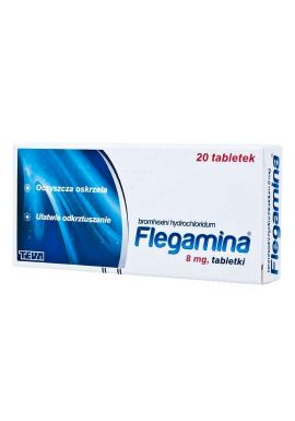 Flegamina 8mg 20 tabletek