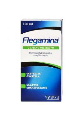 Flegamina syrop 4mg/5ml smak mietowy 120ml