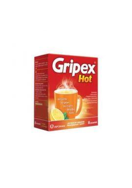 Gripex Hot, 8 saszetek