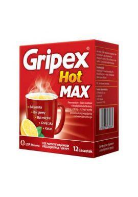 Gripex Hot Max 8 saszetek