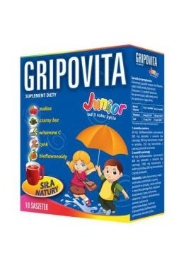 Gripovita Junior, 10 gratis saszetek