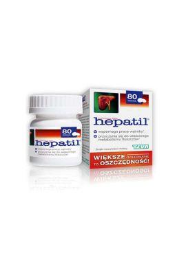 Hepatil 80 tabletek