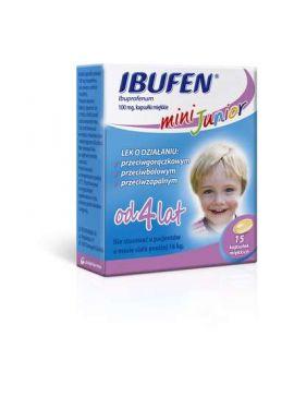 Ibufen mini junior od 4 lat 15 kapsulek