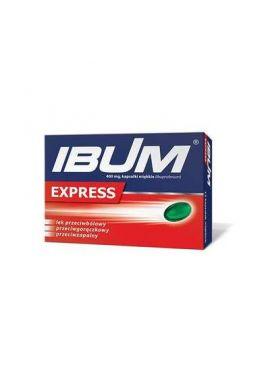 Ibum Express, 400 mg, 12 kapsulek