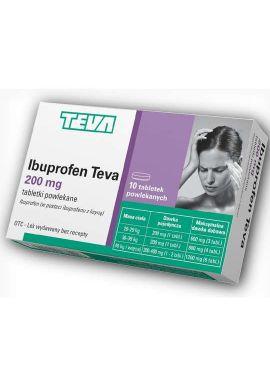 Ibuprofen Teva 200 mg, 12 tabletek