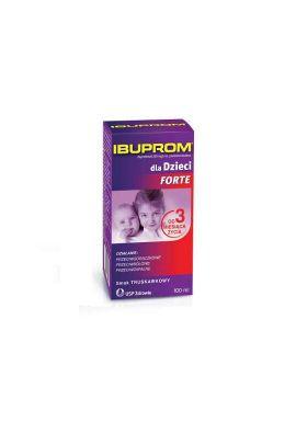 Ibuprom dla Dzieci Forte zawiesina doustna 0,2g/5ml 100ml