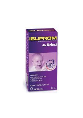 Ibuprom dla Dzieci zawiesina doustna 0,1g/5ml 100ml