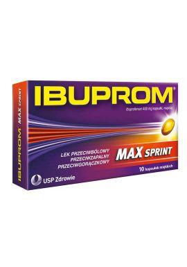 Ibuprom MAX Sprint, 10 kapsulek