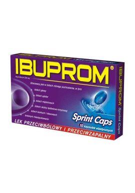 Ibuprom Sprint Caps 10 kapsulek