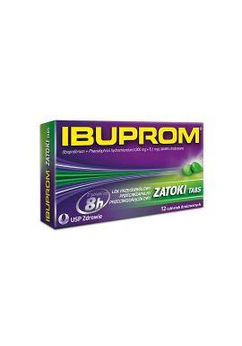 Ibuprom zatoki Tabs, 12 tabletek