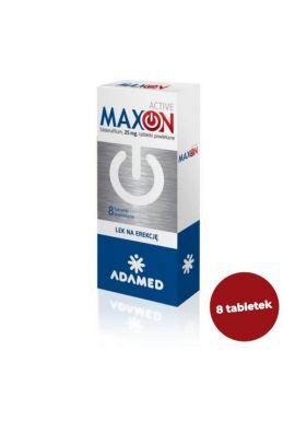MAXON ACTIVE tabl.powl. 0,025 g 8 tabl.
