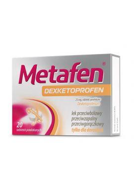 Metafen dexketoprofen 20 tabletek