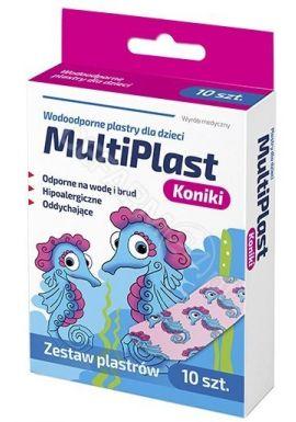 Plastry MultiPlast dla dzieci Koniki x 10 szt