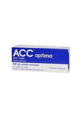 ACC Optima 600mg 10 tabletek musujacych