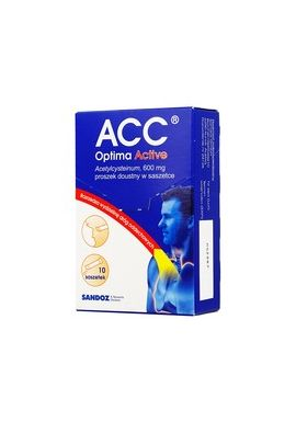 ACC Optima Active, 0,6g 10 saszetek