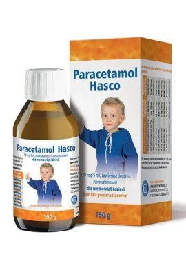 Paracetamol Hasco o sm.pomarńcz 150g