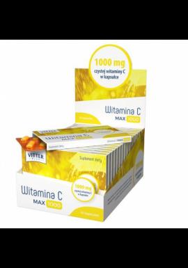 Witamina C Max, 1000, 10 kapsulek VITTER BLUE